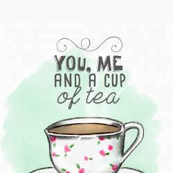 You, me and cup